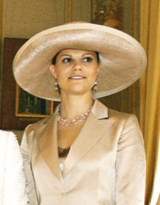 Crown Princess Victoria, heir to the Swedish Throne