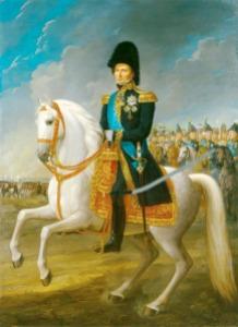The elected Crown Prince of Sweden, His Royal Highness Prince Johan Baptist Julius