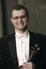 The solo violinist was Jakub Haufa, who is also the first violinist of the Sinfonia Varsovia.